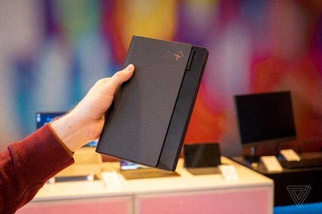 pc portable pliable lenovo