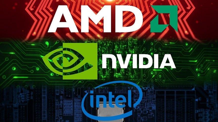 AMD Nvdia Intel