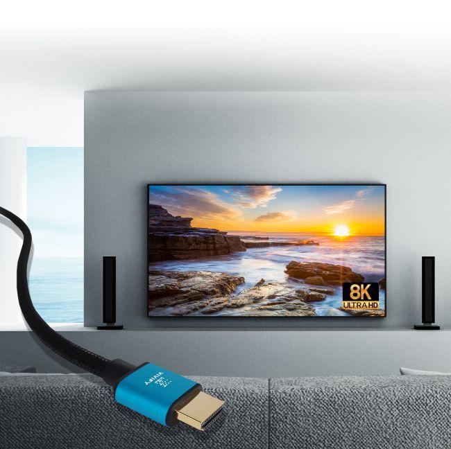 cable pour tv 9k vivify