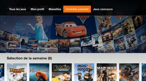 pass jeux video Orange avis