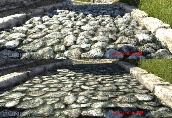 tesselation pierre
