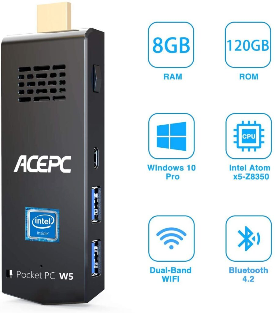 Mini pc ACEPC 8Gb test