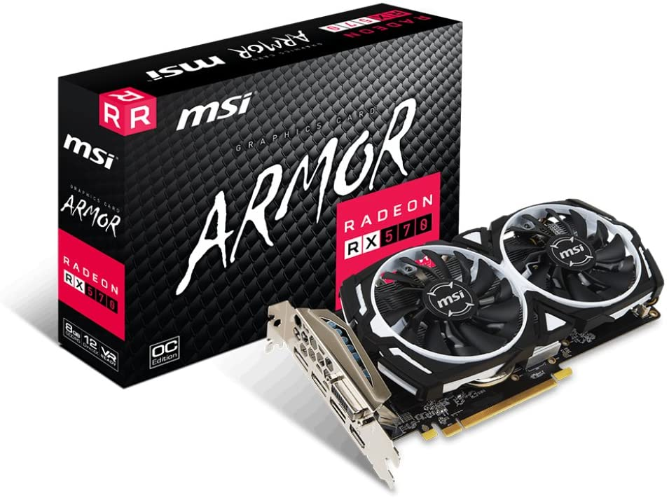 carte graphique amd msi rx 750 armour test achat