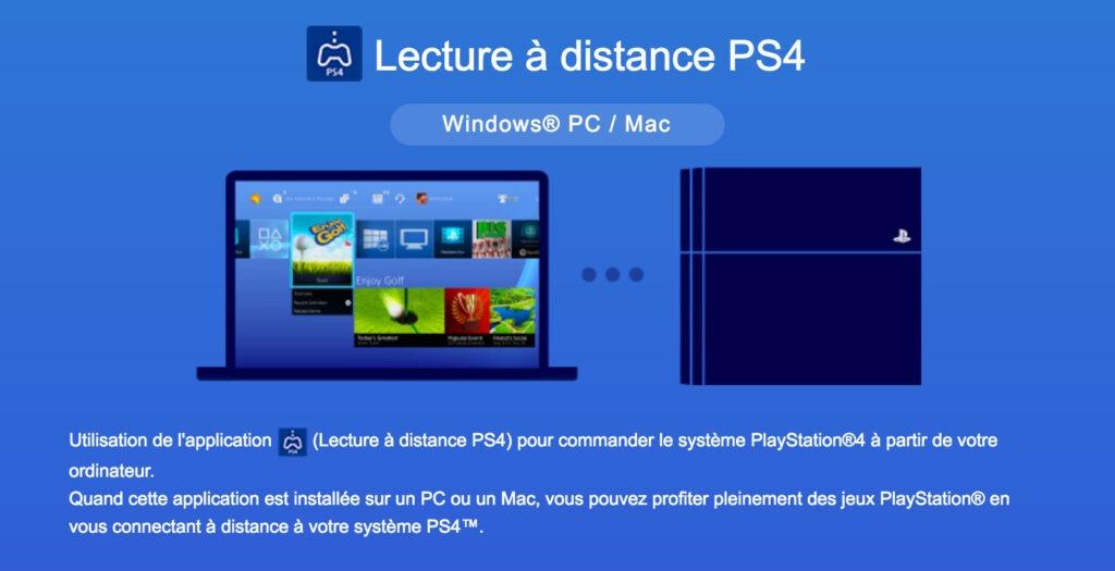 lecture a disctance ps4 pc portable