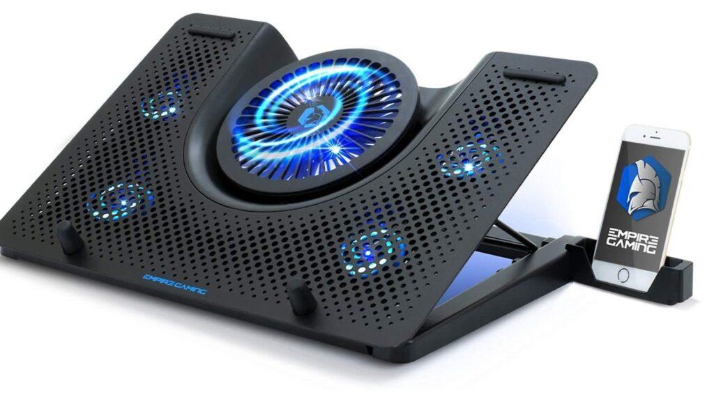 Refroidisseur PC portable 5 ventilateurs
