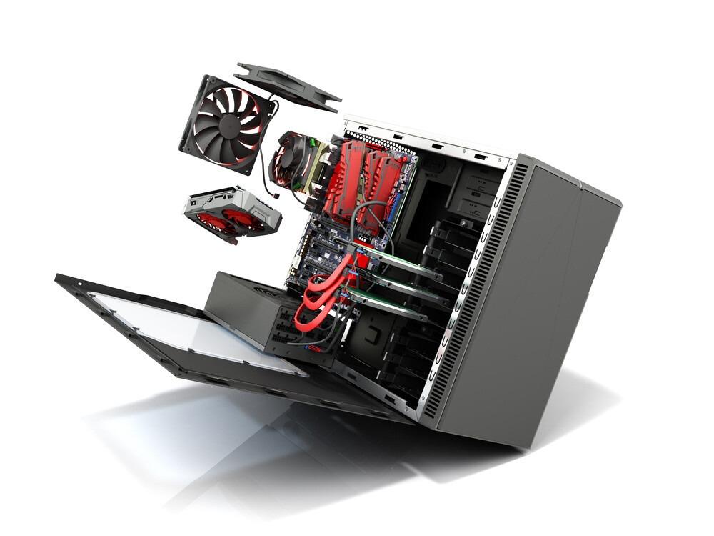 comment monter les composants dans un boitier mini