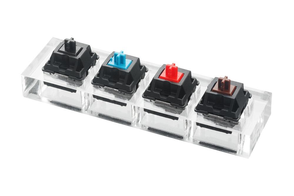 les touches de clavier mecanique
