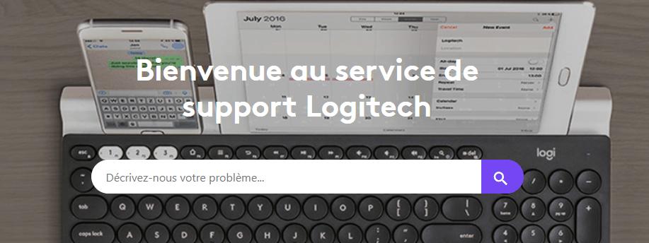 support logitech