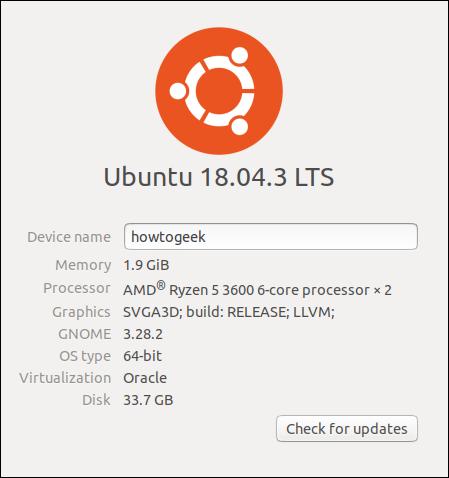Ubuntu comment connaitre sa carte graphique
