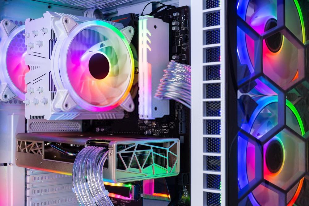 Boitier RGB avec ventirad