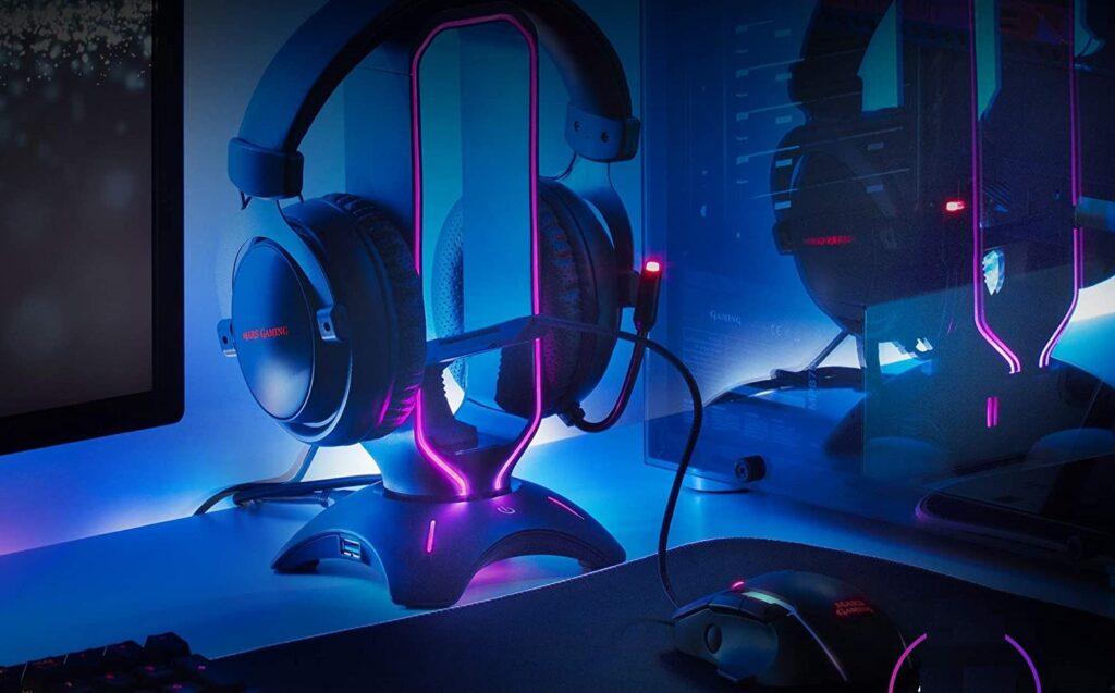 Bungee et support de casque pro gaming