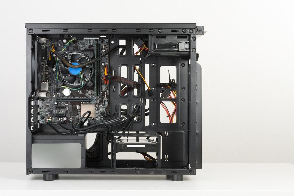 Cable management sur un boitier ATX