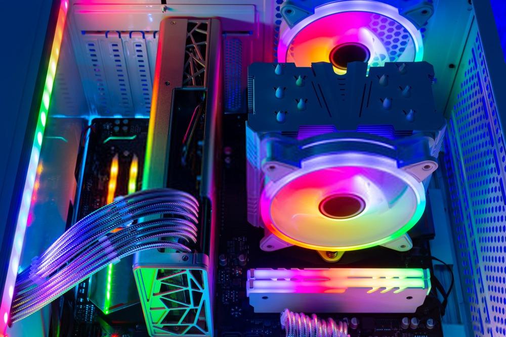 Composant RGB dans un boitier