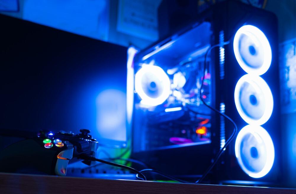 Boitier PC avec manette XBOX