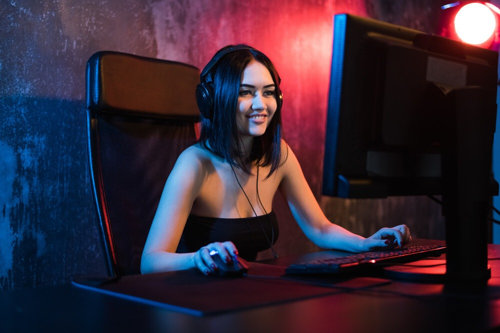 joueuse fortnite PC