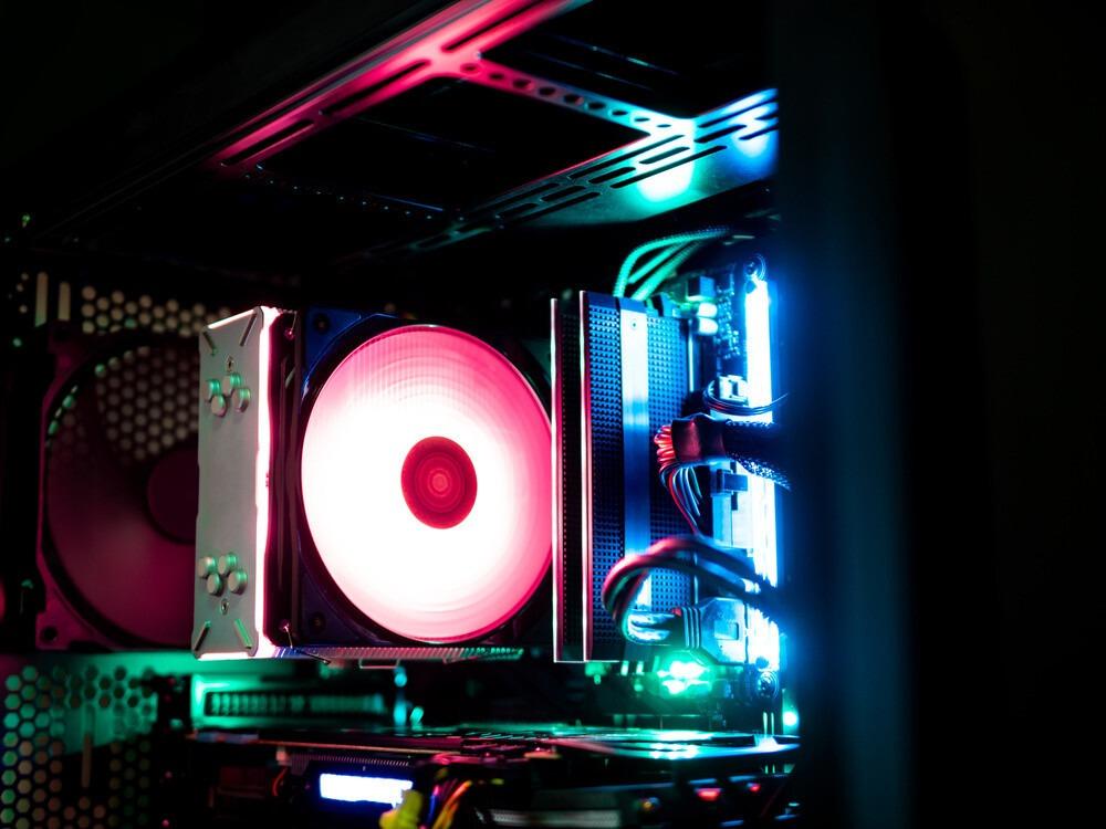 ventilateur refroidisseur dans un boitier de PC