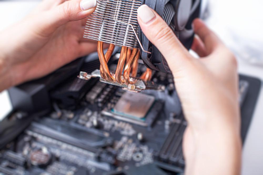 Montage d'un refroidisseur de processeur