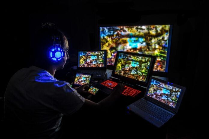set up gaming pc portable
