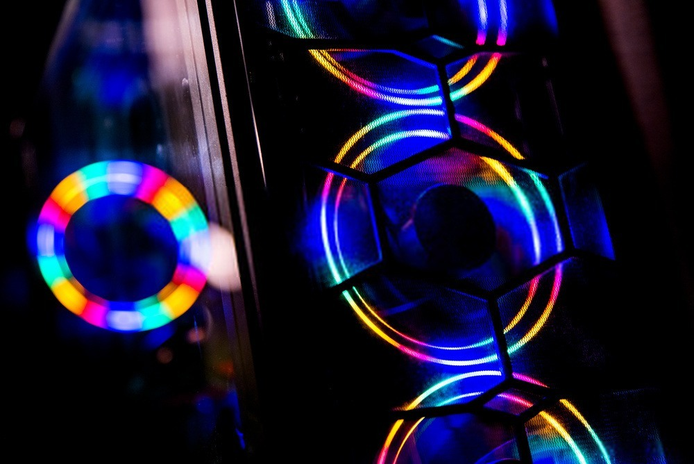 Ventilateur RGB