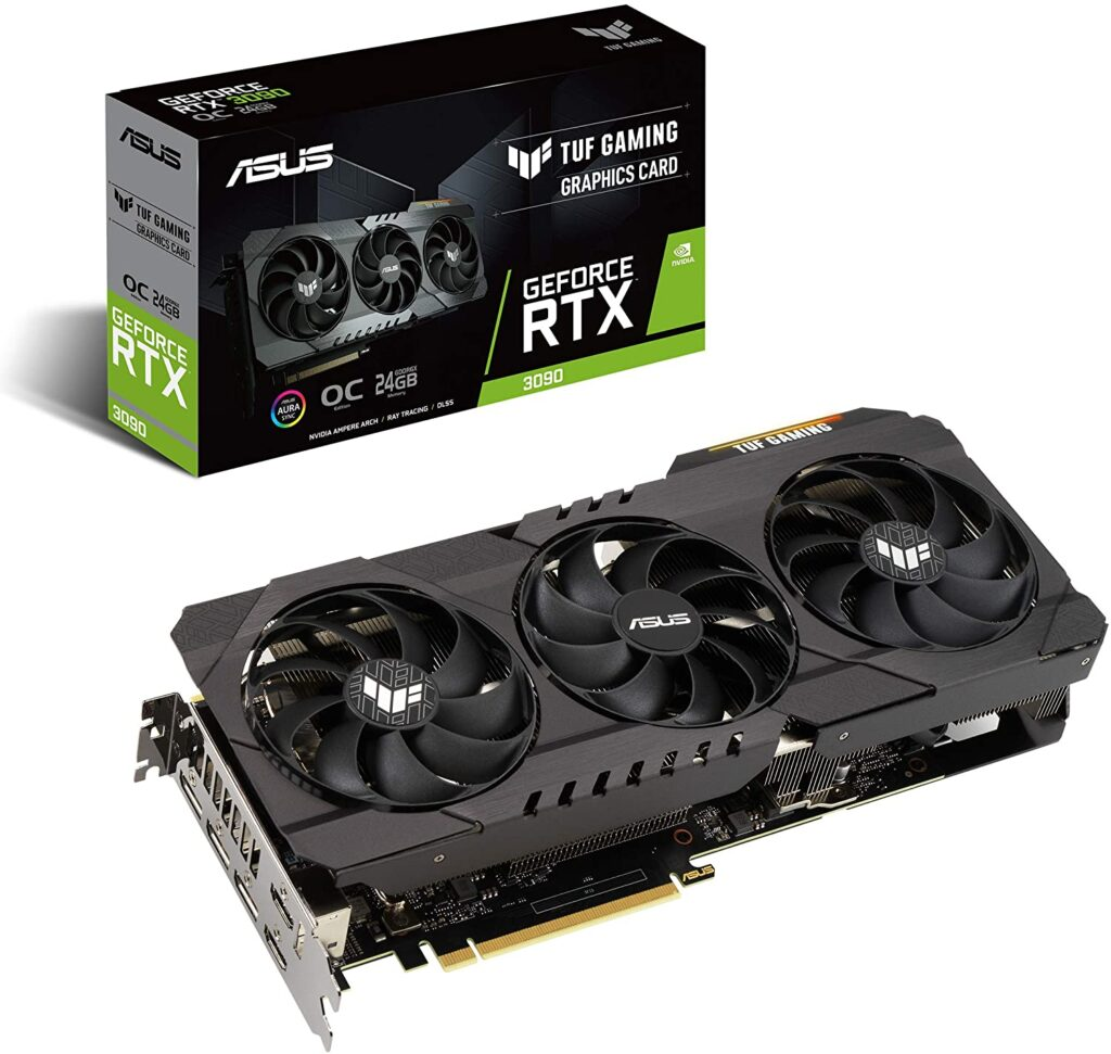 carte graphique ASUS TUF Gaming NVIDIA GeForce RTX 3090