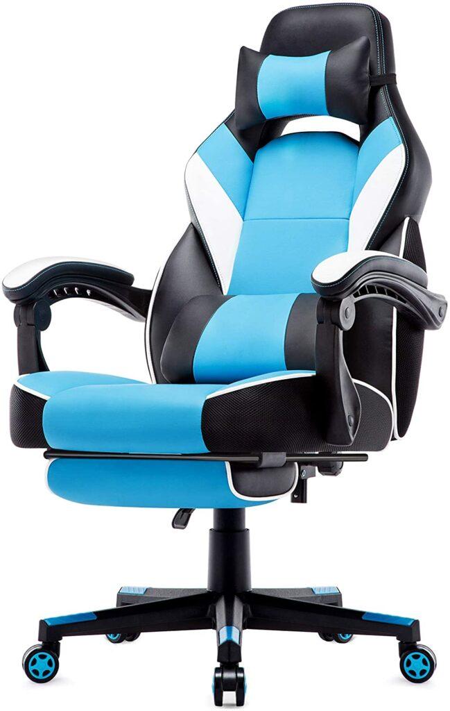 chaise de bureau gaming simili cuir