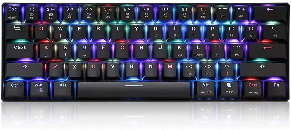 clavier mécanique avec touche rgb