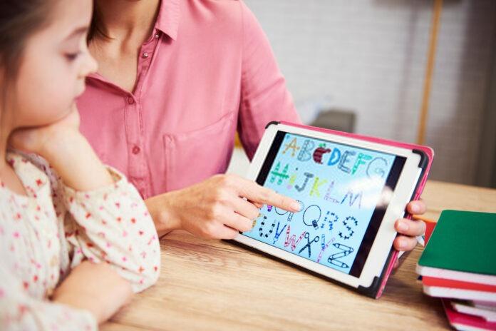 tablette d'écriture pour les enfants