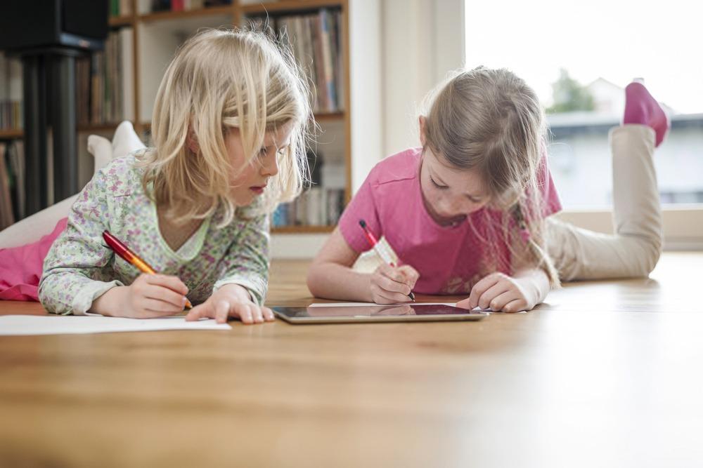 tablette écriture pour fille