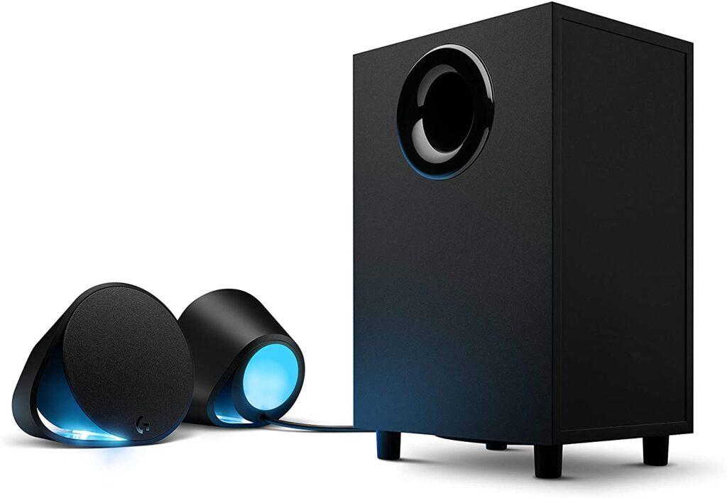Logitech G560 Haut-parleurs Gaming avec Eclairage RGB