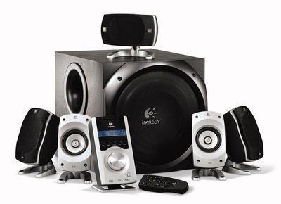 enceintes RGB stereo 5.1