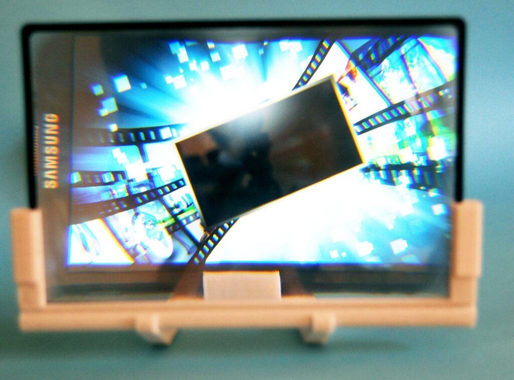loupe d'un agrandisseur d'écran