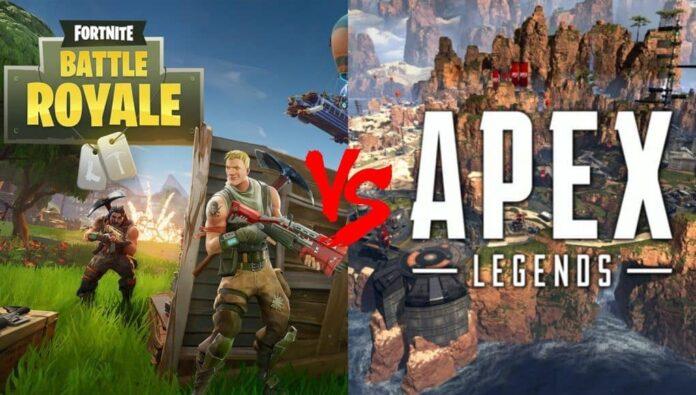 apex legends ou fortnite