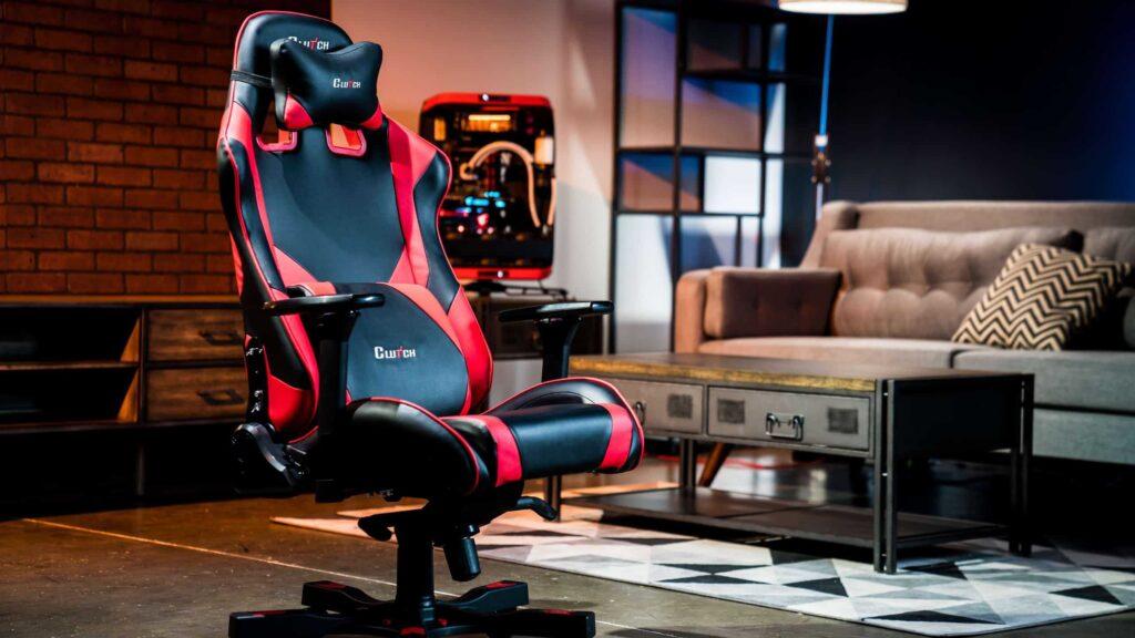 chaise de gaming avec repose pieds e sport