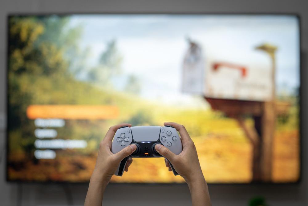 écran ultra large pour playstation 5