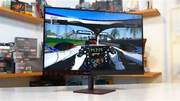 écran de bureau pour console