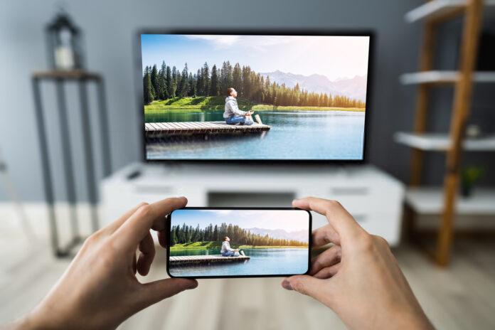 tv smartphone samsung