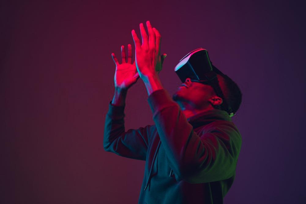 Casque VR downloader