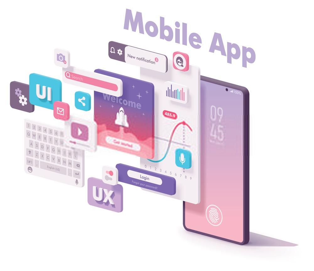 applications mobile sur smartphone