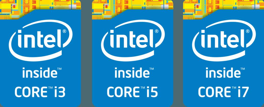intel I3 I5 I7