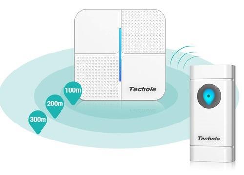 sonnette sans fil Techole