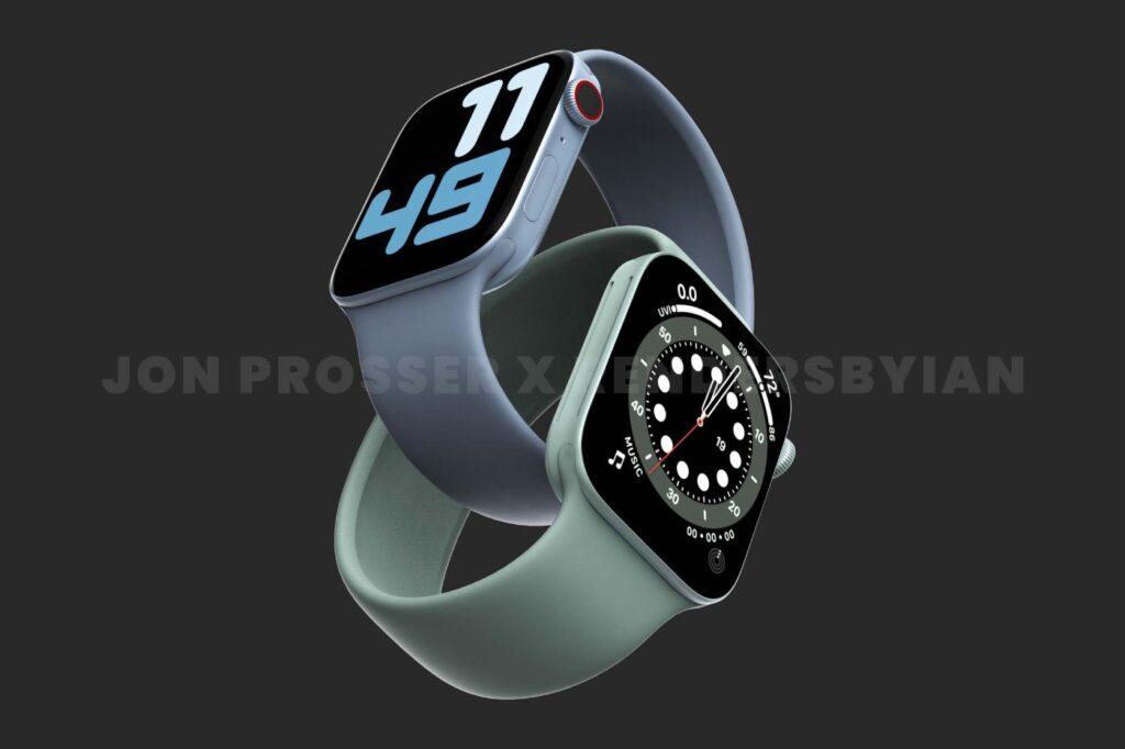 Apple Watch 7 nouveau