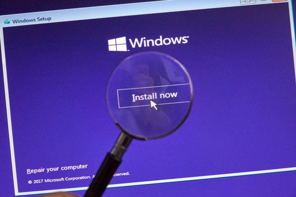 Installation de Microsoft Windows 11